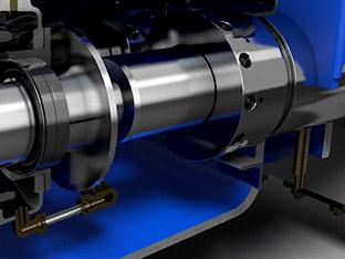 3D Funktionsanimation Hochdruck-Plungerpumpe (URACA)