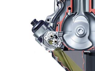 Motor Schnittmodell