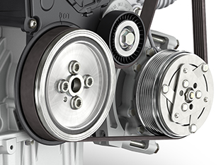 Automotive 3D Visualisierung, VW-Motor