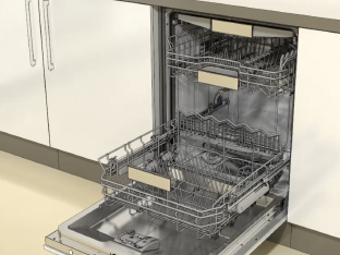 Video manual of Bosch dishwasher rack