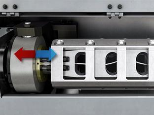 Richtflügel Funktionsanimation Drahtrichtmaschine Wafios